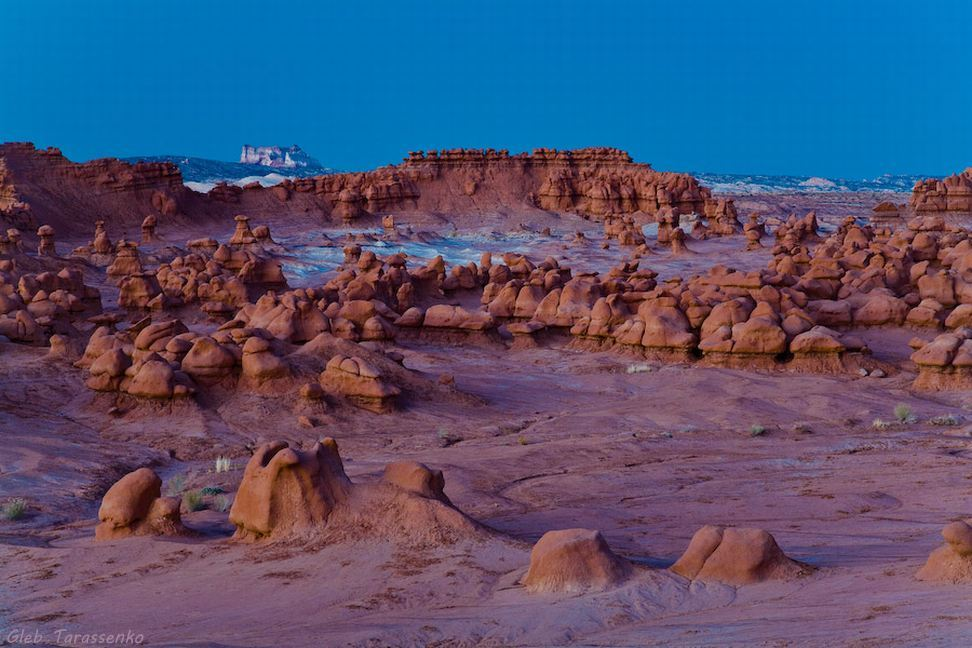 Goblin Valley State Park in Winter